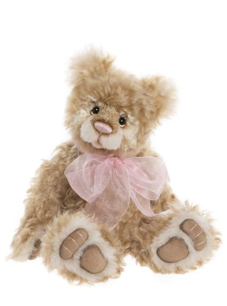 (SOLD OUT) 2020 Charlie Bears Isabelle Mohair CURLY TEMPLE 36cm (Limited to 220 Worldwide)