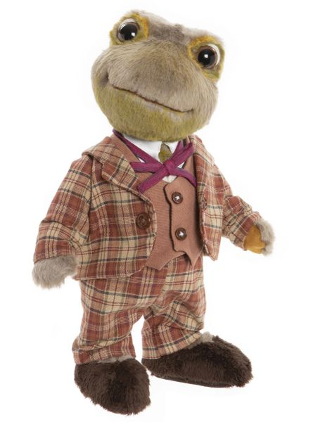 DUE QUARTER 3! 2020 Charlie Bears TOAD Wind In The Willows Collection 25cm (Limited to 500 Worldwide)