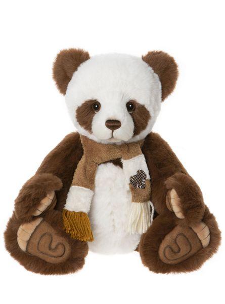 DUE QUARTER 4! 2020 Charlie Bears ALBIE Panda 38cm