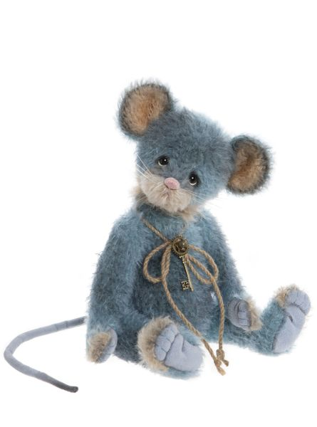 DUE QUARTER 4! 2020 Charlie Bears Isabelle Mohair COMFREY Mouse 28cm (Limited to 300 Worldwide)