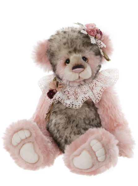 DUE QUARTER 4! 2020 Charlie Bears Isabelle Mohair MISS TRAVERS 46cm (Limited to 200 Worldwide)