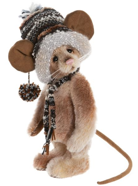 DUE QUARTER 4! 2020 Charlie Bears Isabelle Mohair TRIMMINGS Mouse 29cm (Limited to 300 Worldwide)