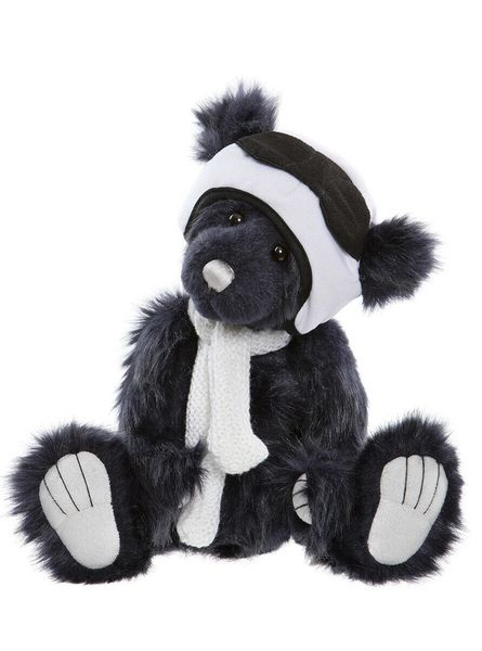 2019 Charlie Bears PILOT PETE Hatty Series (Limited to 700 Worldwide) 28cm