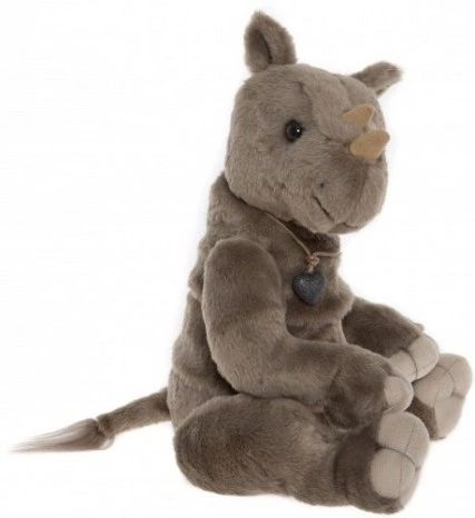 HALF PRICE! 2018 Charlie Bears VINNIE Rhino 32cm