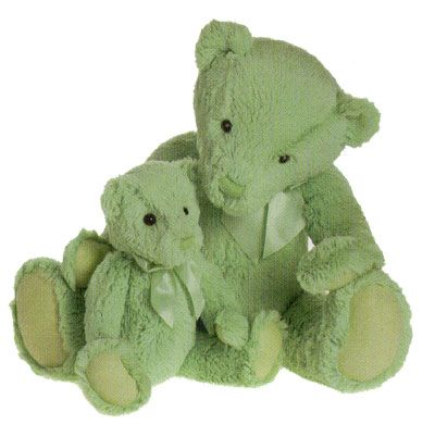 HALF PRICE! My First Charlie Bears LARGE MEADOW GREEN 45cm