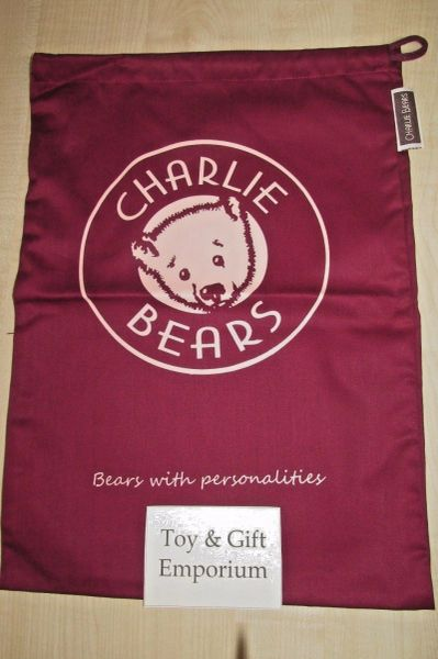 LAST FEW! Charlie Bears XL Drawstring Gift Bag 69x42cm