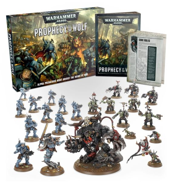 SPECIAL OFFER! Warhammer 40K PROPHECY OF THE WOLF Box Set