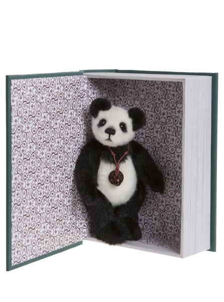 SPECIAL OFFER! 2019 Charlie Bears SNUGGLEABILITY Green Library Book Bear 13cm