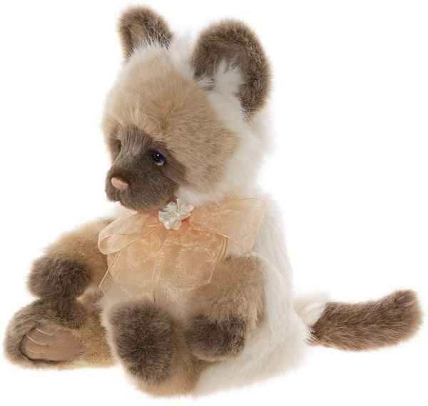 IN STOCK! 2020 Charlie Bears Secret Collection PRECIOUS Cat 36cm