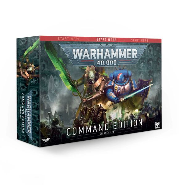 ON SALE NOW! Warhammer 40,000 Command Edition