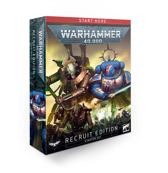 ON SALE NOW! Warhammer 40,000 Recruit Edition