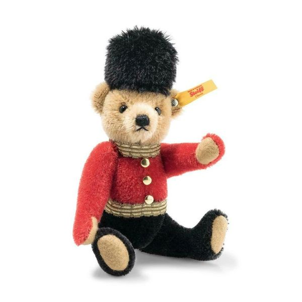 25% OFF! STEIFF Great Escapes LONDON Mohair Teddy Bear in Gift Box