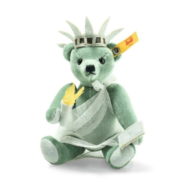 25% OFF! STEIFF Great Escapes NEW YORK Teddy Bear in Gift Box