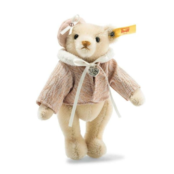 25% OFF! STEIFF Great Escapes PARIS Mohair Teddy Bear in Gift Box