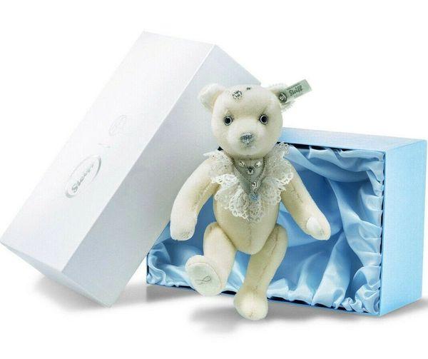 25% OFF! Steiff BRIDE Teddy Bear with Swarovski Crystals in Gift Box