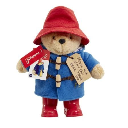 25% OFF! Classic Paddington Bear with Boots 25cm PA1489