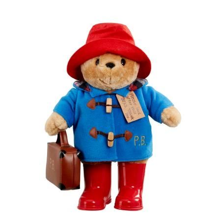 25% OFF! Large Classic Paddington Bear with Boots & Suitcase 33cm PA1490