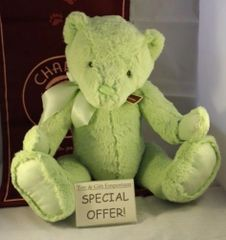 LAST FEW DAYS! My First Charlie Bears LARGE MEADOW GREEN 45cm