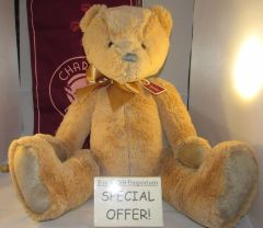 My First Charlie Bears LARGE HONEYCOMB BROWN 45cm