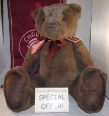 My First Charlie Bears LARGE CHOCOLATE BROWN 45cm