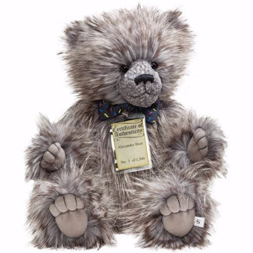 Silver Tag Bears ALEXANDER 55cm (Limited Edition of 1500/Individually numbered)