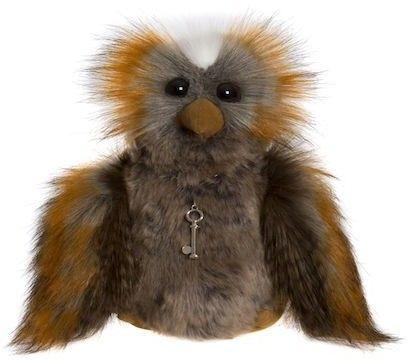HALF PRICE! 2017 Charlie Bears Halloween WANDA Owl 23cm