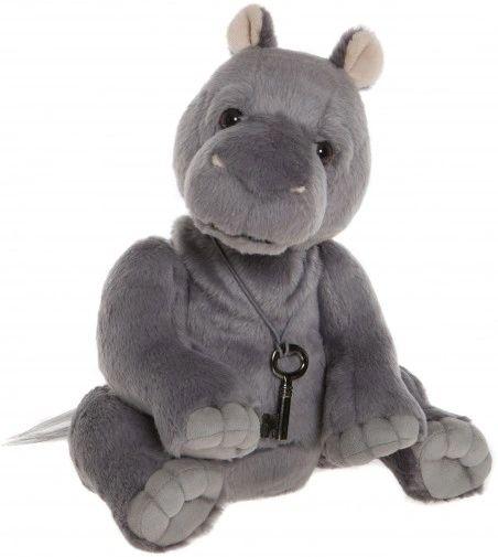 HALF PRICE! NEW 2018 Charlie Bears HANK Hippo 28cm