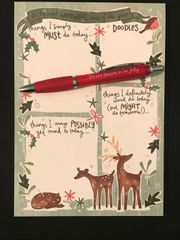 Christmas Planner and Pen Set