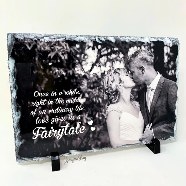 Fairytale Photo Slate
