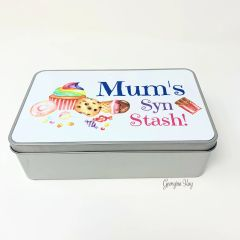 Personalised Syn Tin (add any name)