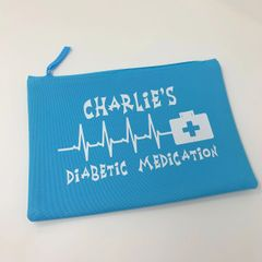 Personalised Medication Bag (Choice of Colours)