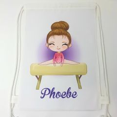 Personalised Gymnastics Bag (Various Bags & Options)