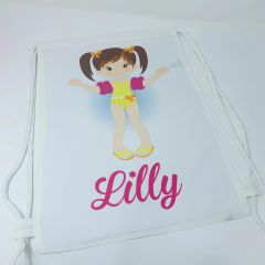 Swimming Girl Themed Bag