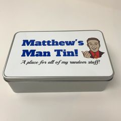 Personalised Man Tin!