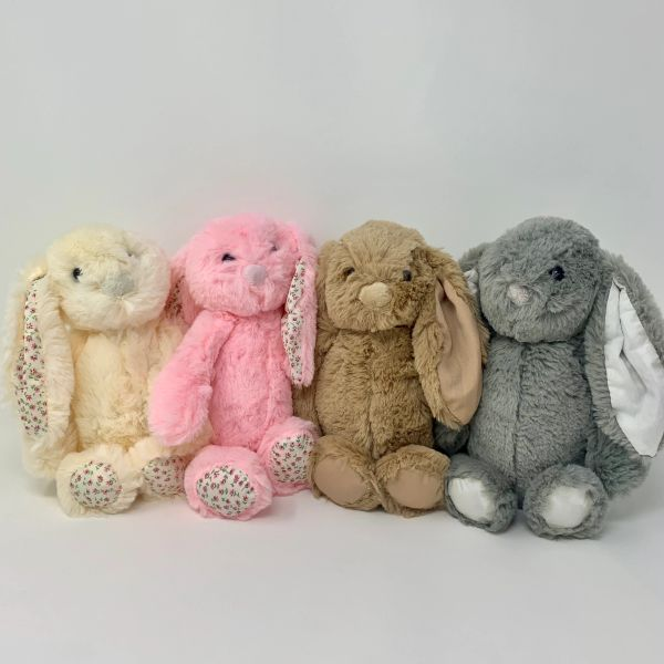 Personalised Bunny (choice of colours)
