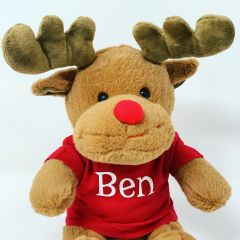 Plush Personalised Reindeer