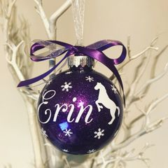 Horse/Pony Themed Bauble