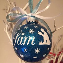 Reading Themed Bauble