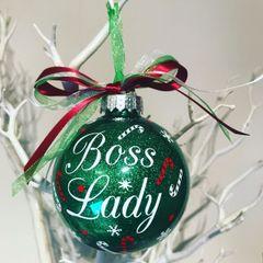 Boss Lady Bauble