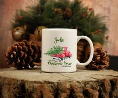 Personalised This is my Christmas movie watching mug