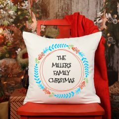 The Family Christmas Cushion