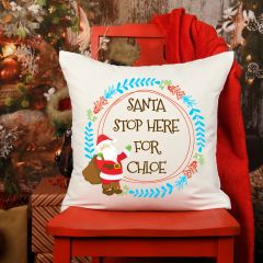 Santa Stop here for Cushion