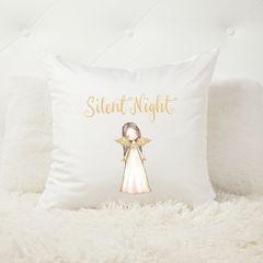 Silent Night Angel Cushion