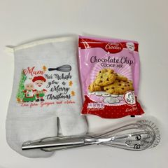 Personalised Oven Glove Christmas Gift Set
