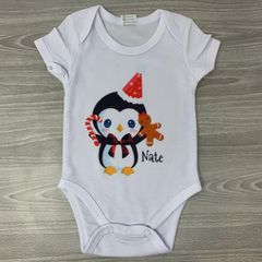 Personalised Christmas Baby Grow