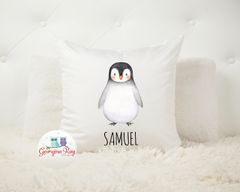 Penguin Cushion Cover and Insert