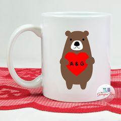Personalised Bear Mug
