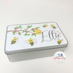 Personalised Bee Tin