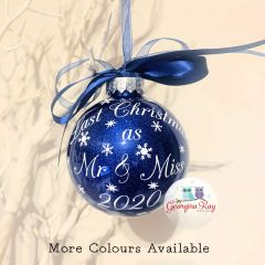 Last Christmas as Mr & Miss Bauble