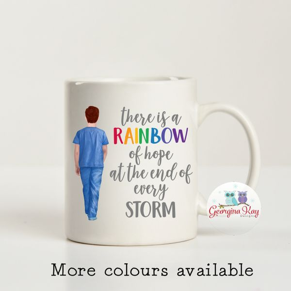 Dr Alex's - Rainbow of Hope Mug (Porter / Doctor / Nurse / Carer)
